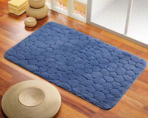 Tappeto bagno klimt cm 40x60 blu gedy ebay - Tappeto bagno blu ...