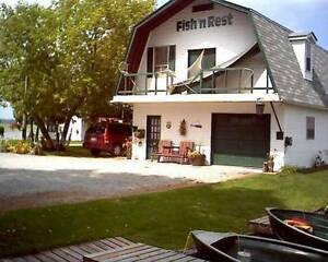 (Fish 'n' Rest - COTTAGE & BOAT RENTAL) Kawthra Lake ~Lindsay,ON