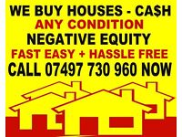 DISTRESSED SELLERS £££ Sell Your House Fast Cash £££ Need to sell within 30 days? we can CALL NOW