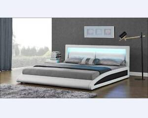 $$SPECIAL - BRAND NEW LED Luminous Bed Frame Double King Queen