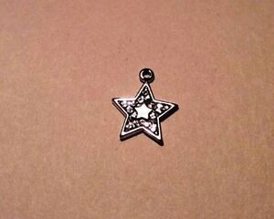 STAR PENDANT STONES LIKE DIAMONDS