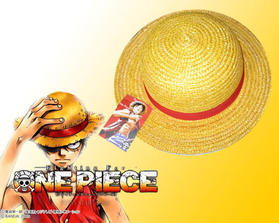 Handmade One Piece Monkey D Luffy Straw Hat Cosplay Yellow Cap Luffy Hat