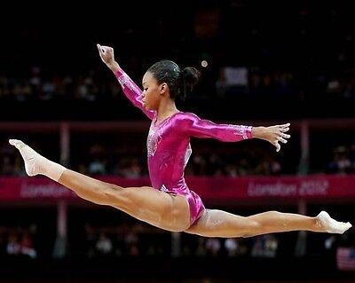 Gabby Douglas London 2012 Usa Olympic Gymnastics 8X10 Photo Beam 2