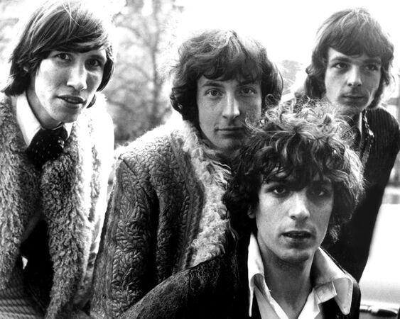 1970s English Rock Band PINK FLOYD Glossy 8x10 Photo Music Artist Syd Barrett