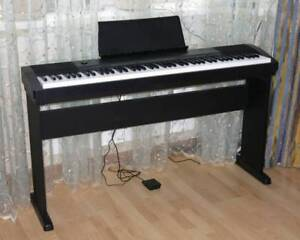 Casio Piano CDP130 with Stand , Pedal (88 weighted keys)