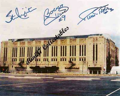 CHICAGO BLACKHAWKS STADIUM SIGNED AUTOGRAPHED  PHOTO REPRINT