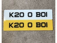 Number plate for sale K200BOI suit Honda Civic type r dc5 k20