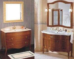 mobile da bagno per arredo con mobili arte povera più lavabo in ... - Lavabi Con Mobile
