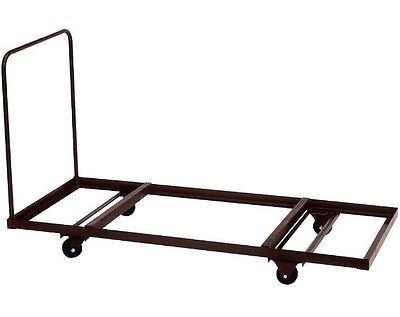 New Correll 30x96 T3096 Flat Stacking Folding Table Dolly Stores Up To 12 Tables