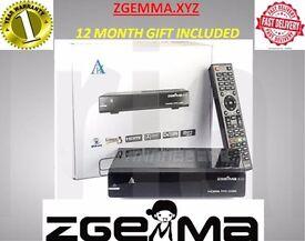ZGEMMA H2S SATELLITE BOX DUAL CORE NOW HAVE 2LINES