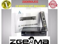 ZGEMMA H2S SATELLITE BOX DUAL CORE