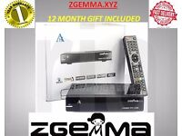 ZGEMMA H2S SATELLITE BOX DUAL CORE NOW HAVE 2LINES