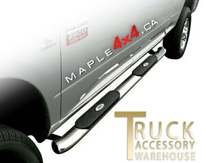 "4"" Oval  Nerf side Bars Fit 2009-2016 Dodge Ram 1500/2500/3500 North Shore Greater Vancouver Area image 10"