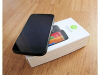 MOTOROLA MOTO G BOXED **UNLOCKED ANY NETWORK SIM** android smartphone