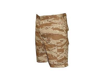 Desert Tiger Stripe Camo BDU Cargo Shorts / Zipper Fly / TRU-SPEC 4259  ()