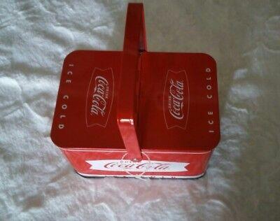 Coca Cola collectable Metallic Box