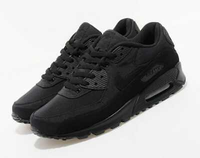 NIKE AIR MAX 90 TRIPLE BLACK UK 6 -11