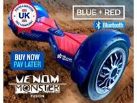 """Swegway 10"""" Hoverboard Cheap Breezeboards Blue RRP £695 Hoverboards Boxed Used"""