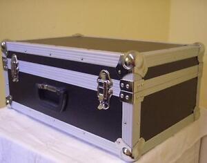 Universal Koffercase schwarz 60x40x26cm Transportkoffer Koffer Flightcase NEU