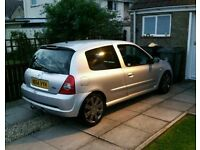 Renault clio sport 182 FULL SERVICE HISTORY MILLTEK EXHAUST BOTH CUP PACKS