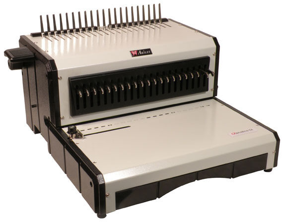 AKILES AlphaBindCE Heavy-Duty Electric Comb Binding Sys