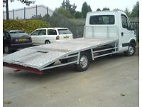 car recovery service breakdown tow car transport a car roadside recovery towing service moving car