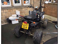road legal quad bashan 200cc open to sensible offers
