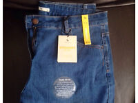 New Tu Ladies blue jeans size 16r