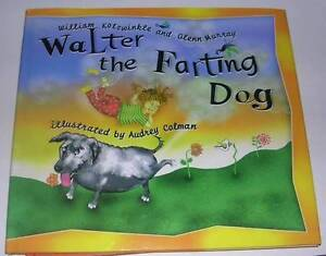 Walter the Farting Dog  - Children's book