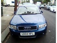 Audi A4. Blue, petrol, Manual