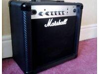Guitar amplifier, 15 watt, by Marshall