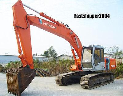 Hitachi Ex200-2 Ex200lc-2 Excavators Shop Service Repair Manual Parts Catalog Cd