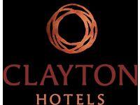 Receptionist - Clayton Hotel, Cardiff