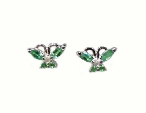 Earrings Antique Alexandrite 19thC Russia Natural ½ct Color-Change Genuine .925