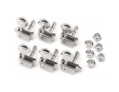 NEW Fender Vintage Locking Strat Tele TUNERS Guitar Parts, Chrome 0072272049