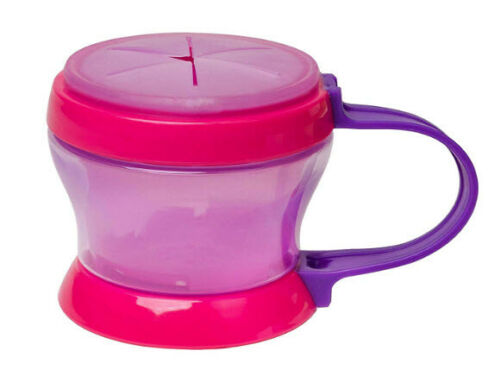 NUK Toddler 2 in 1 Healthy Food Snack Container Cup - Girl