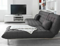 STRUCTUBE sofa-bed + lounge chair-bed