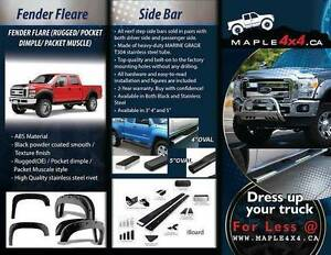 "4"" Oval  Nerf side Bars Fit 2009-2016 Dodge Ram 1500/2500/3500 North Shore Greater Vancouver Area image 6"
