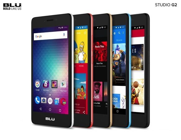 $59.97 -  BLU Studio G2 Android Cell Phone Unlocked   Dual SIM GSM Smartphone