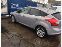 Ford Focus titanium X 2.0 diesel fully loaded with all extras