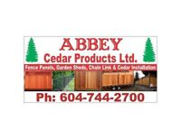 GOOD QUALITY CEDAR FENCE PANEL SALE & INSTALLATION To