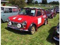 Classic Ex-Rally Mini with full Racing Spec