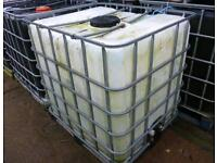 WANTED Ibc containers, any quantity, any condition
