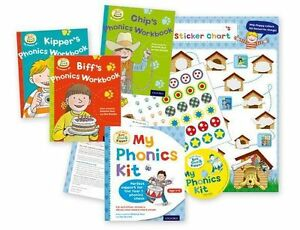 Read-with-Biff-Chip-Kipper-My-Phonics-Kit-Books-and-CD-RRP-9-52-BRAND-NEW