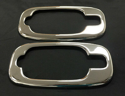 CHEVROLET AVALANCHE SUV 2002-2006 TFP CHROME SS DOOR HANDLE COVER- HOUSING W/1KH