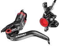 Magura MT8 Hydraulic Disc Brakes As New Condition Carbon Fibre