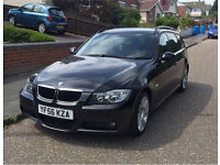 2006 BMW Black 318i M Sport Touring Estate FSH 3 Series Manual Petrol