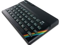 The Recreated Sinclair ZX Spectrum Bluetooth Keyboard QWERTY Layout - New Sealed -