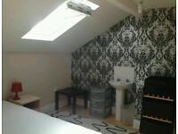 Spacious loft in friendly shared house near city center & Salford university