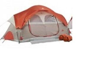 Tent and two sleeping bags